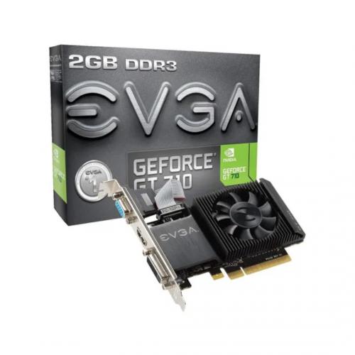 TARJETA VIDEO EVGA GEFORCE 2GB GT-710 DDR 3